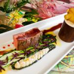 Steak mit Pastinakenpüree an Rotweinsauce